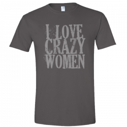 Brandy Clark Heather Charcoal tee