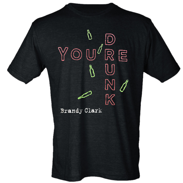 Brandy Clark Heather Graphite You're Drunk Tee