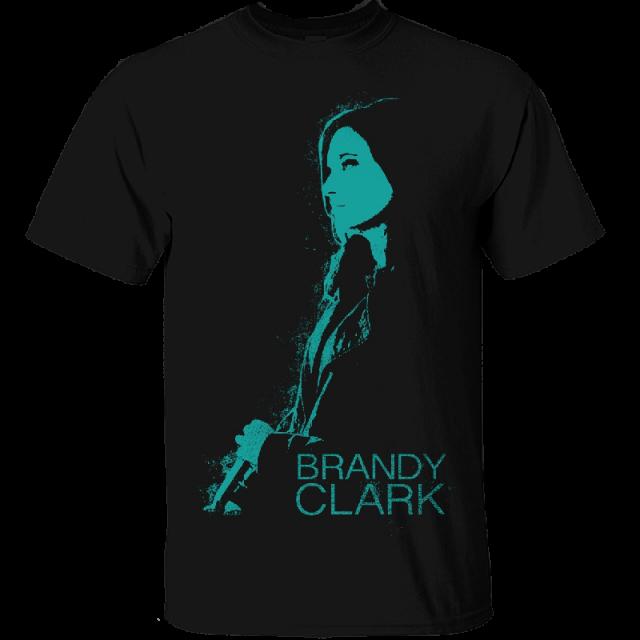 Brandy Clark Unisex Black Photo Tee