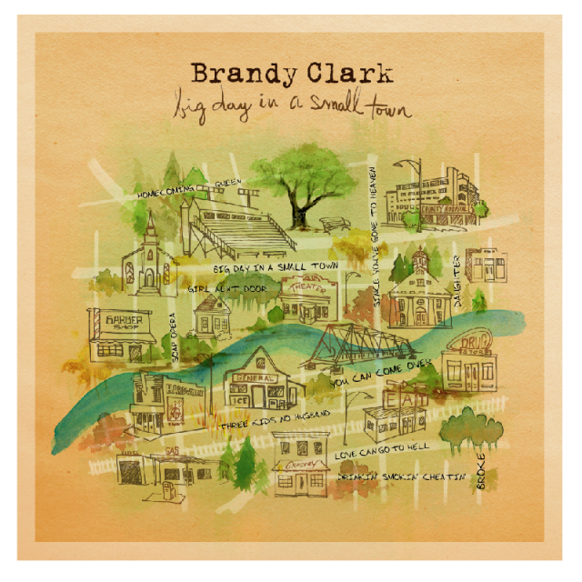 Brandy Clark CD- Big Day In A Small Town